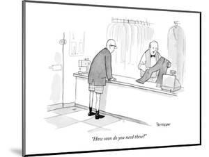 """""""How soon do you need these?"""" - New Yorker Cartoon by Jason Patterson"""