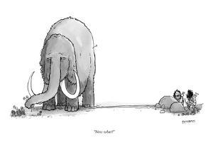"""""""Now what?"""" - New Yorker Cartoon by Jason Patterson"""