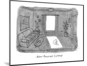 Solar Powered Cat Nap. - New Yorker Cartoon by Jason Patterson
