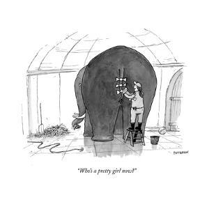 """""""Who's a pretty girl now?"""" - New Yorker Cartoon by Jason Patterson"""