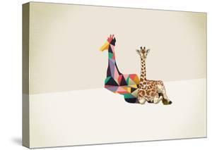 Giraffe - Walking Shadows by Jason Ratliff