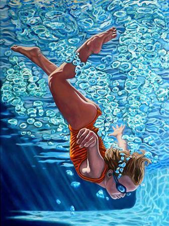 The Diver 2 by Jason Stillman