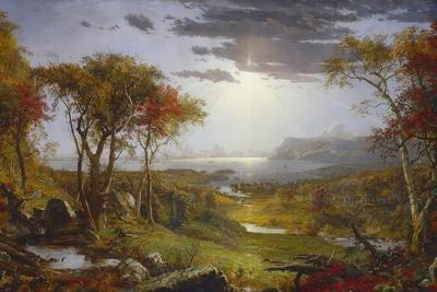 Autumn-On the Hudson River, 1860