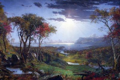 Autumn-On The Hudson River