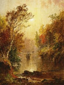 Autumn on the Wawayanda, 1877 by Jasper Francis Cropsey