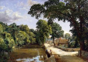 Bonchurch, Isle of Wight, 1859 by Jasper Francis Cropsey