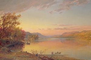 Lake George, NY, 1871 by Jasper Francis Cropsey