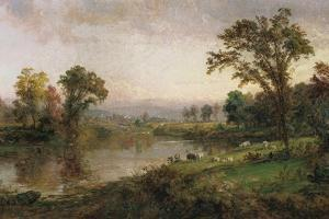 Riverscape - Early Autumn, 1888 by Jasper Francis Cropsey