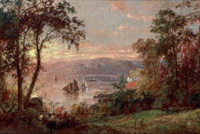 Sailing (The Hudson at Tappan Zee), 1883