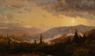 Sunset after a Storm in the Catskill Mountains, c.1860 by Jasper Francis Cropsey