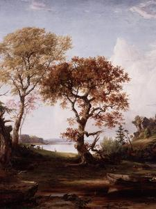 The Hudson at Piermont, 1852 by Jasper Francis Cropsey