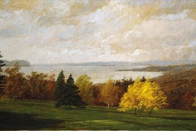 View of the Hudson Near Hastings, 1895