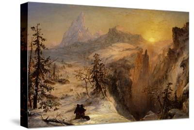 Winter in Switzerland, 1860