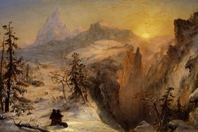 Winter in Switzerland, 1860 by Jasper Francis Cropsey