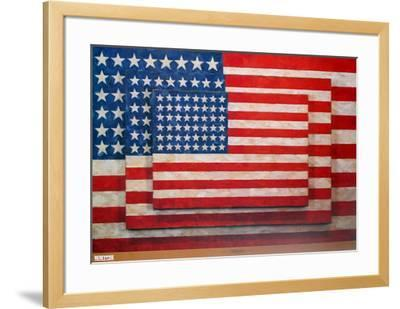 Three Flags by Jasper Johns