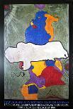 Three Flags-Jasper Johns-Art Print
