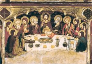 Last Supper by Jaume and Pere Serra