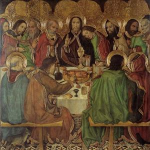 The Last Supper by Jaume Huguet