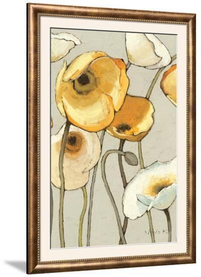 Jaune Gris II Crop-Shirley Novak-Framed Photographic Print