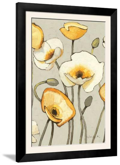 Jaune Gris III Crop-Shirley Novak-Framed Photographic Print