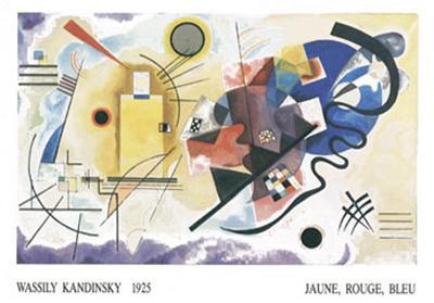 Jaune, Rouge, Bleu, 1925-Wassily Kandinsky-Art Print