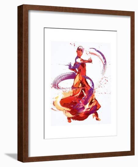Jaunt-Penny Warden-Framed Giclee Print