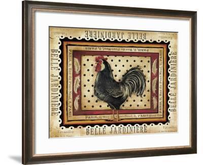 Jaunty Plumerie II-Kimberly Poloson-Framed Art Print