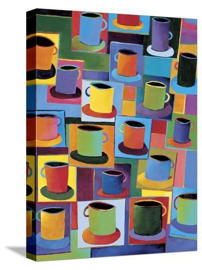 Java Time-Kathryn Fortson-Stretched Canvas Print