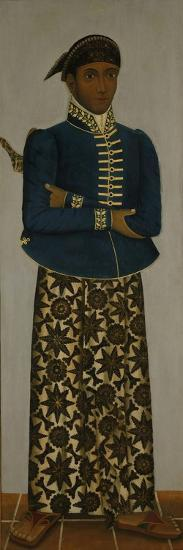 Javanese Court Official, C.1820-70-Javanese School -Giclee Print