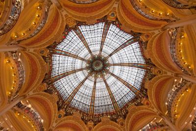Dome of Galeries Lafayette, Paris, France