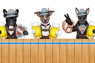 Bavarian Dogs by Javier Brosch