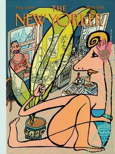 The New Yorker Cover - August 1, 1994 by Javier Mariscal