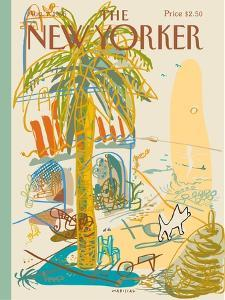 The New Yorker Cover - August 7, 1995 by Javier Mariscal