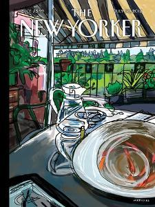 The New Yorker Cover - July 30, 2012 by Javier Mariscal