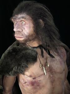 Neanderthal Man by Javier Trueba