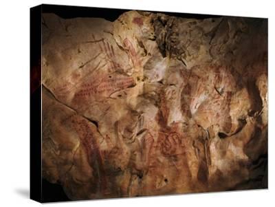 Stone-age Cave Paintings, Asturias, Spain