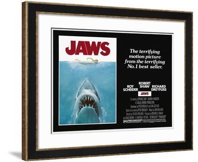 Jaws, 1975--Framed Giclee Print