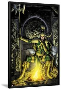 Thor: First Thunder No.2 Cover: Loki Sitting by Jay Anacleto