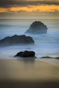 Rugged Big Sur Coast At Sunset In California by Jay Goodrich