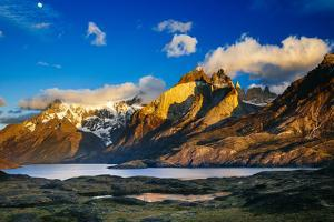 Sunrise in Torres Del Paine National Park in Southern Chilean Patagonia by Jay Goodrich