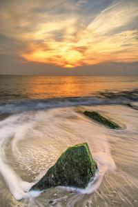 USA, New Jersey, Cape May. Scenic on Cape May Beach. by Jay O'brien