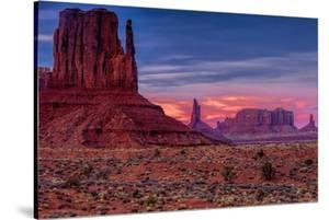 Utah, Monument Valley Navajo Tribal Park. Eroded Formations by Jay O'brien