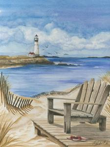 Lighthouse View I by Jay Throckmorton