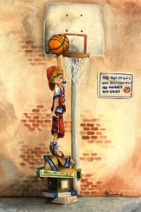Slam Dunk by Jay Throckmorton