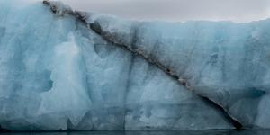 Arctic Ocean, Norway, Svalbard. Glacier Face by Jaynes Gallery