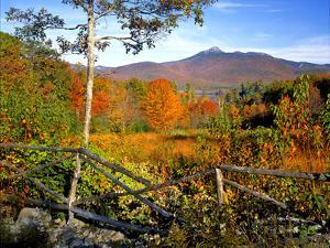 Autumn Landscape of Mount Chocorua, New England, New Hampshire, USA by Jaynes Gallery