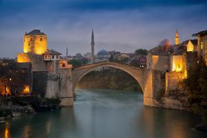 Bosnia and Herzegovina, Mostar. Stari Most Bridge by Jaynes Gallery