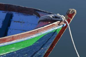 Bow Detail of Wooden Boat, Deer Harbor, Orcas Island, Washington, USA by Jaynes Gallery