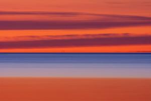 Canada, Manitoba, Winnipeg. Lake Winnipeg at sunrise. by Jaynes Gallery