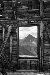 Colorado. Abandoned Mining Building with View of Wilson Peak by Jaynes Gallery